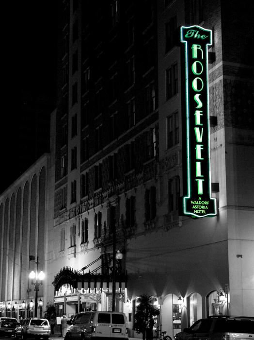 A Stay At The Historic Roosevelt Hotel