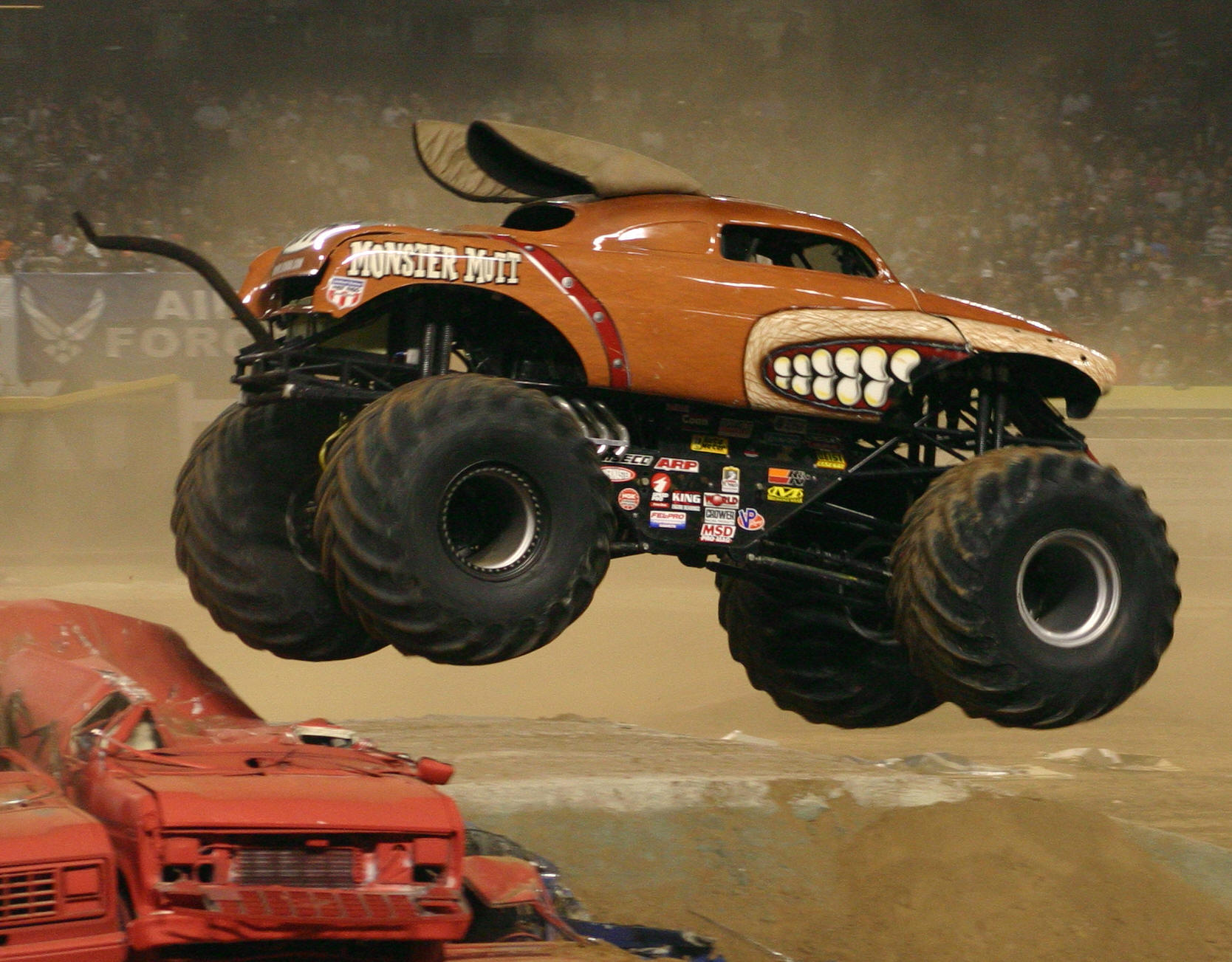The Monster Trucks Of Mount Monstracity Finished For Now Fantastical Andrew Fox