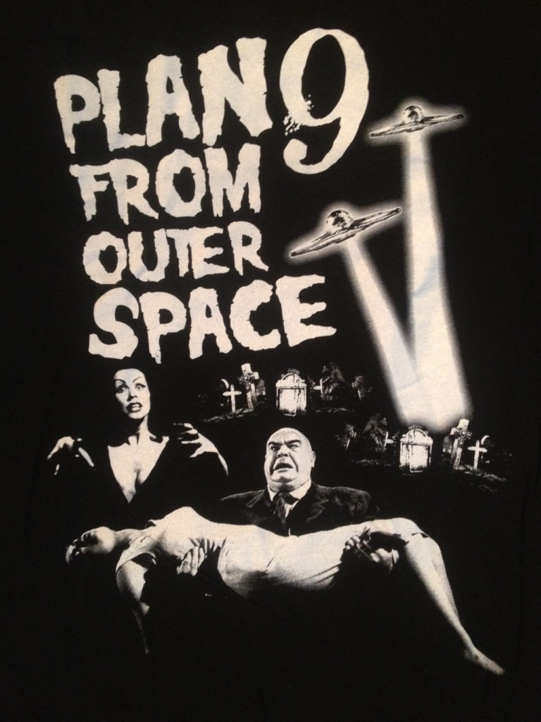 Plan Nine From Outer Space |Mine From Outer Space